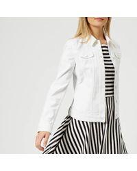 Emporio Armani - Women's Denim Jacket - Lyst