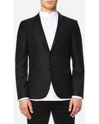 HUGO - Awerd 2 Button Jacket - Lyst