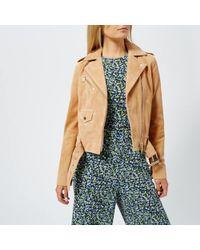 MICHAEL Michael Kors - Women's Classic Suede Moto Jacket - Lyst