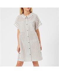 Karl Lagerfeld - Women's Captain Karl Stripe Dress - Lyst