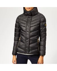Barbour - Camier Quilted Coat - Lyst