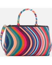 Paul Smith - Double Zip Tote Bag - Lyst