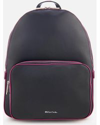 PS by Paul Smith - Multi Stripe Strap Backpack - Lyst