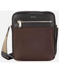Paul Smith - Accessories Men's Stripe Detail Crossbody Bag - Lyst