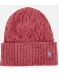 300781eeb41 Polo Ralph Lauren - Women s Wool Hat - Lyst
