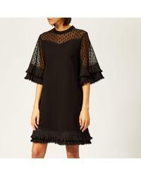 McQ - Women's Volume Ruffle Dress - Lyst