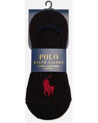 Polo Ralph Lauren - Men's No Show Shoe Liner Socks - Lyst