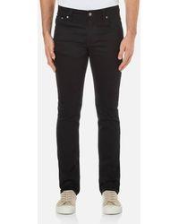 Nudie Jeans - Men's Grim Tim Straight/slim Fit Jeans - Lyst