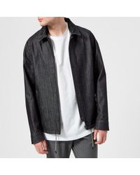 Wooyoungmi - Men's Embroidered Collar Coach Jacket - Lyst