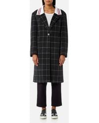 Maison Kitsuné - Women's Ribbed Thelma Masculine Coat - Lyst