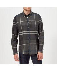 Barbour - Men's Dunoon Long Sleeve Shirt - Lyst