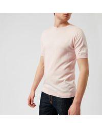 John Smedley - Men's Belden 30 Gauge Sea Island Cotton Tshirt Dress - Lyst