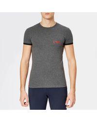 Emporio Armani - Ea Logo T-shirt - Lyst