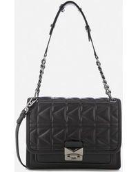 Karl Lagerfeld - Women's K/kuilted Handbag - Lyst