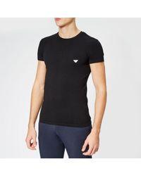 Emporio Armani - Men's Small Logo Crew Neck Tshirt - Lyst