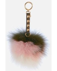 MICHAEL Michael Kors - Women's Charms Fur Lollipop Large Pom Pom - Lyst