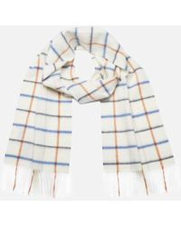 Barbour - Women's Country Tattersall Scarf - Lyst