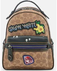 COACH - Women's Disney X Coach Coated Canvas Snow White Campus Backpack 23 - Lyst