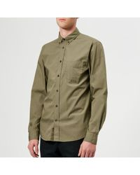 Acne Studios - Men's Isherwood Soft Pop Shirt - Lyst