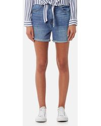 J Brand - Women's Joan High Rise Short Jeans - Lyst