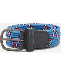 Andersons - Anderson's Woven Fabric Belt - Lyst