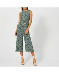 MICHAEL Michael Kors - Women's Tiny Wild Flower Jumpsuit - Lyst