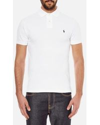 Polo Ralph Lauren - Men's Slim Fit Short Sleeved Polo Shirt - Lyst