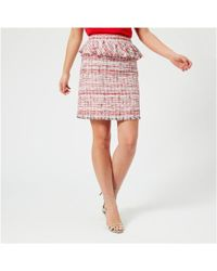 Karl Lagerfeld - Knee Length Skirt - Lyst