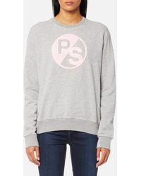 PS by Paul Smith - Women's Ps Logo Sweatshirt - Lyst