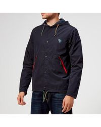 PS by Paul Smith - Men's Coach Jacket - Lyst