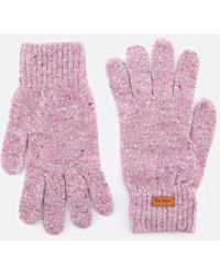 Barbour - Women's Donegal Knitted Gloves - Lyst
