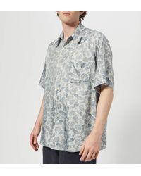 Our Legacy - Borrowed Short Sleeve Shirt - Lyst
