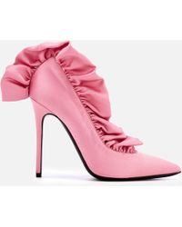 MSGM - Frill Court Shoes - Lyst