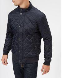 Barbour - Men's Edderton Quilted Blouson Jacket - Lyst
