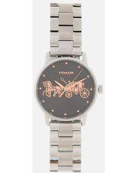 COACH - Women's Grand Classic Logo Watch - Lyst