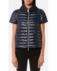 Herno - Women's Short Padded Jacket With Short Sleeves - Lyst