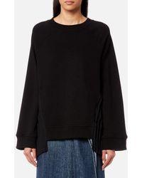 MM6 by Maison Martin Margiela - Women's Pleated Sweatshirt - Lyst