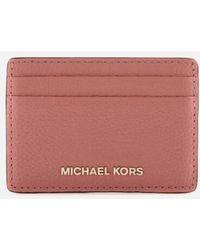 MICHAEL Michael Kors - Women's Money Pieces Card Holder - Lyst