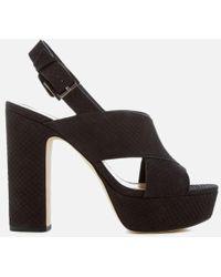 MICHAEL Michael Kors - Women's Mariana Sling Back Platform Sandals - Lyst