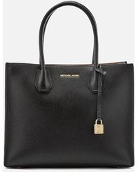 MICHAEL Michael Kors - Women's Mercer Large Messenger Tote Bag - Lyst