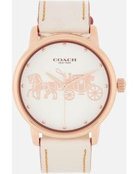 COACH - Grand Large Face Watch - Lyst