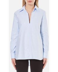Alexander Wang - Women's Aline Tunic Shirt - Lyst