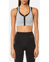 Falke - Ergonomic Sport System Women's Versatility Maximum Support Sports Bra Grey - Lyst