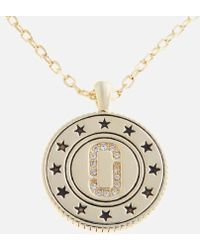 Marc Jacobs - Women's Medallion Double Sided Pendant - Lyst