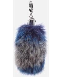 Rebecca Minkoff - Women's Fox Tail Bag Charm - Lyst