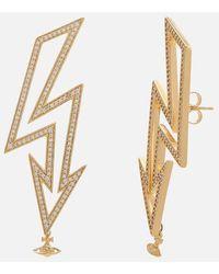 Vivienne Westwood - Women's Isadora Earrings - Lyst