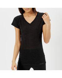 Falke - Ergonomic Sport System Women's Short Sleeve Silk Wool Tshirt - Lyst