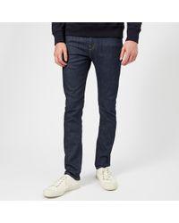 Ps Jeans Raw Smith Detail Denim Paul By Stitch Blue In Fit Slim With ZukiPX