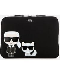 Karl Lagerfeld - Iconic Laptop Sleeve - Lyst