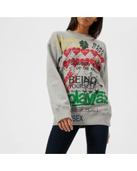 Vivienne Westwood Anglomania - Women's Square Sweatshirt - Lyst
